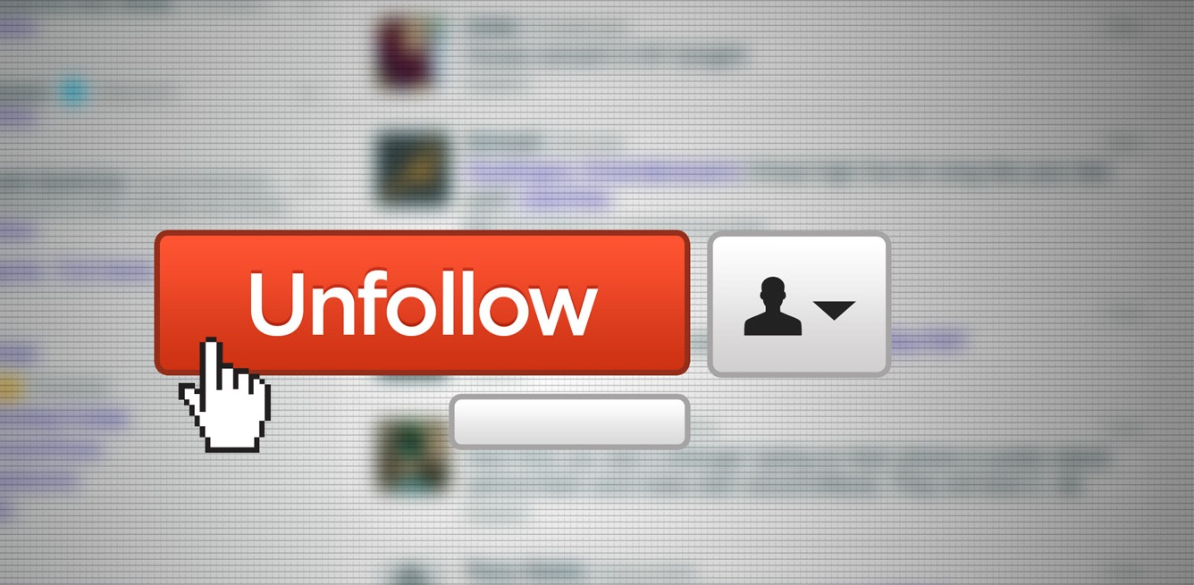 The power of unfollowing – and a cheat for when you cant.
