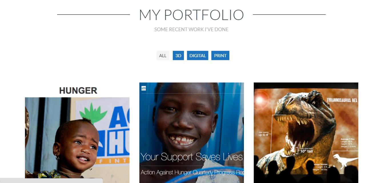 SGM portfolio - BCD portfolio page