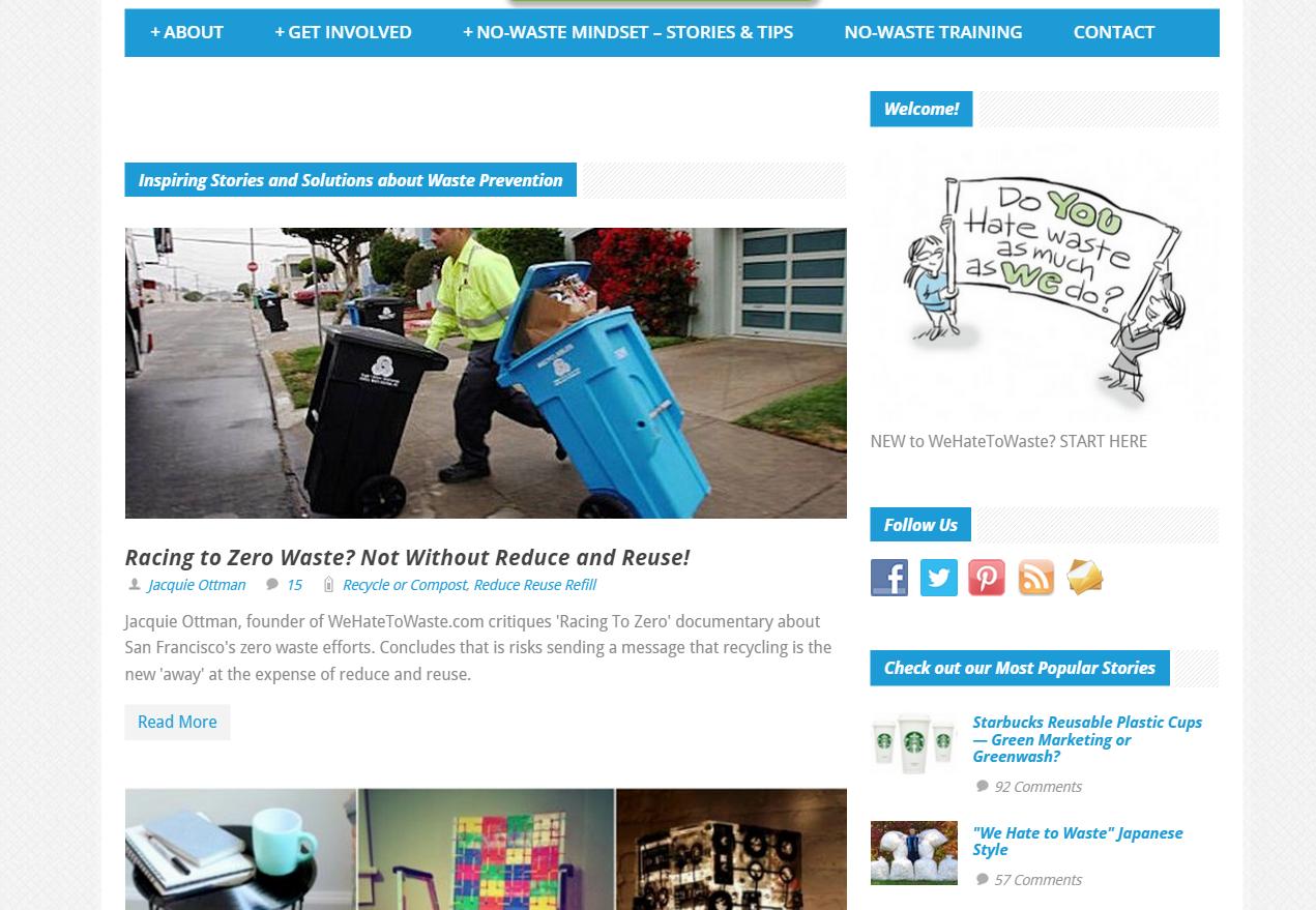SGM Portfolio - WHTW homepage